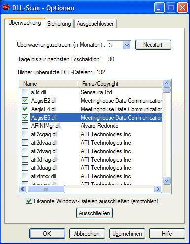 Vorschau DLL-Scan - Bild 1