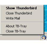 Vorschau Thunderbird-Tray - Bild 1