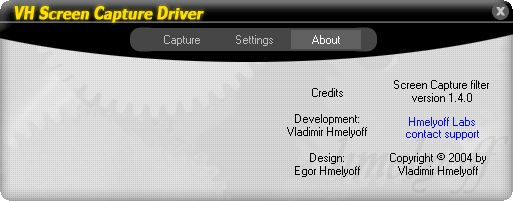 Vorschau VH Screen Capture Driver - Bild 1