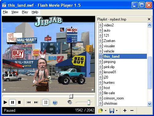 Vorschau Flash Movie Player - Bild 1