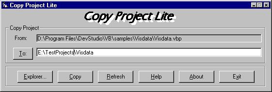 Vorschau CopyProjectLite - Bild 1