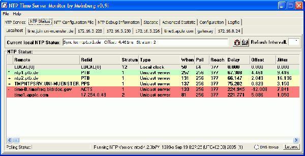 Vorschau NTP Time Server Monitor - Bild 1