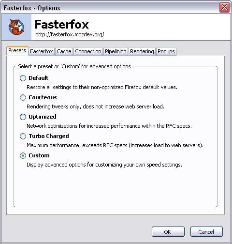 Vorschau Fasterfox - Bild 1