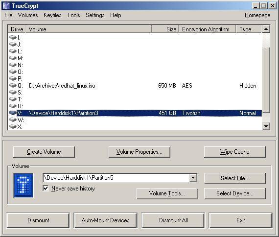 Vorschau TrueCrypt for Linux - Bild 1