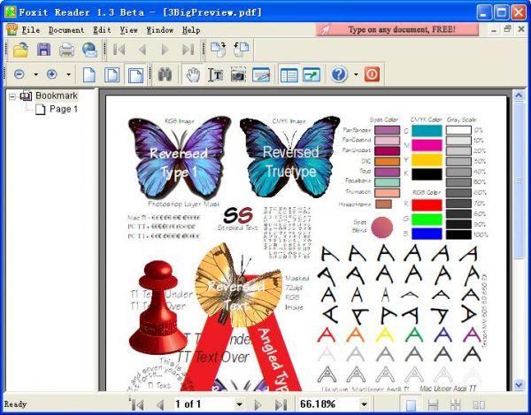 Vorschau Foxit Reader for PDF - Bild 1