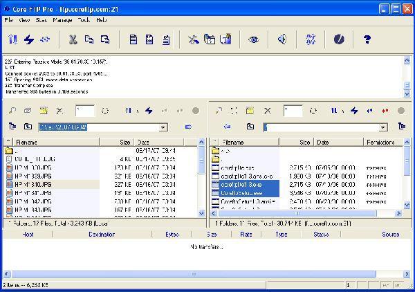 Vorschau Core FTP Lite - Bild 1