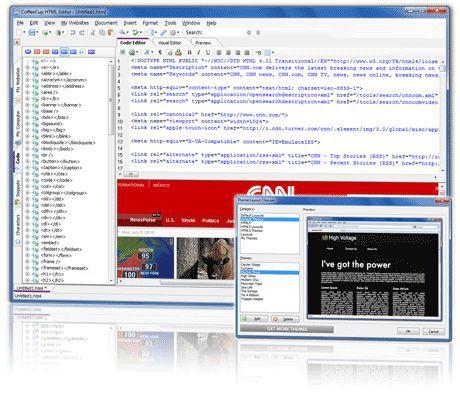 Vorschau CoffeeCup Free HTML Editor - Bild 1