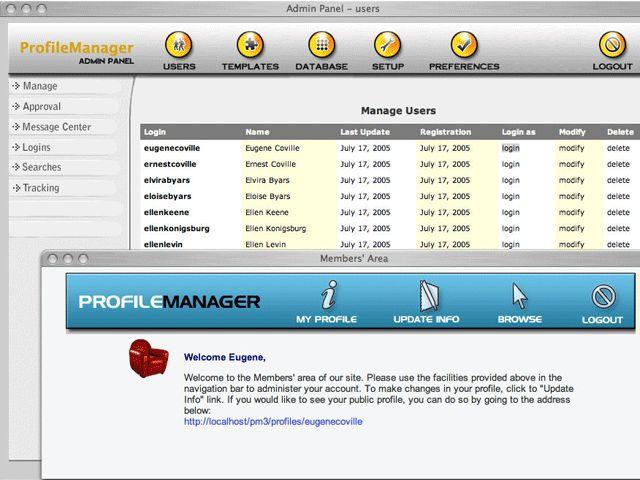 Vorschau Profile Manager Basic - Bild 1