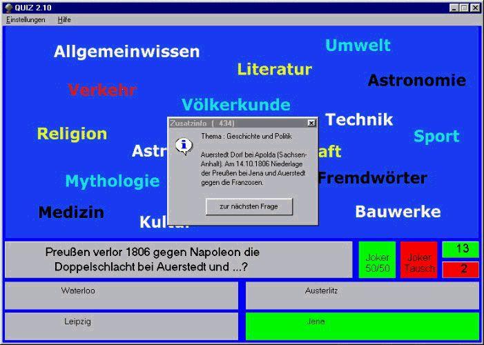 Vorschau Quiz - Bild 1