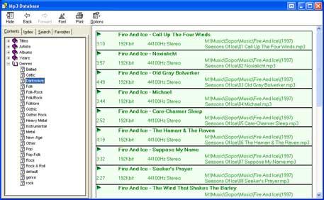 Vorschau Abee MP3 Database Organizer - Bild 1