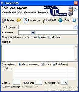 Vorschau Firmen-SMS - Bild 1