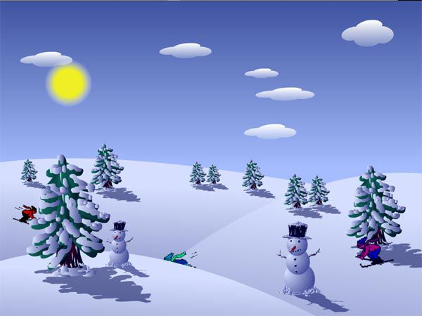 Vorschau Free Christmas Holidays Screen Saver - Bild 1