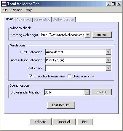 Vorschau Total Validator Tool - Bild 1