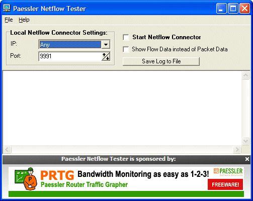 Vorschau Paessler Netflow Tester - Bild 1