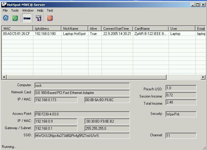 Vorschau HotSpot MWC Server - Bild 1