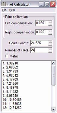 Vorschau Fret Calculator - Bild 1