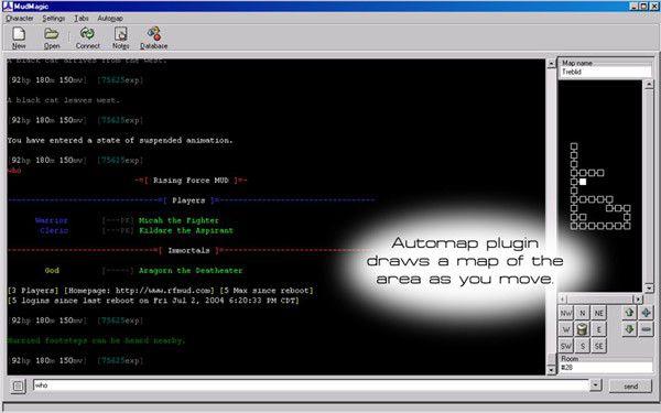Vorschau MudMagic Text Game Client - Bild 1
