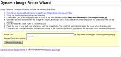 Vorschau Dynamic Image Resize Wizard - Bild 1