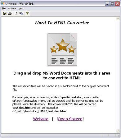 Vorschau WordHTML CV - Bild 1