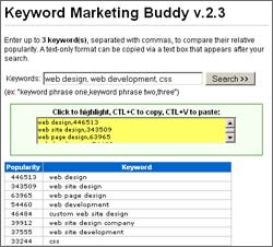 Vorschau Keyword Marketing Buddy - Bild 1
