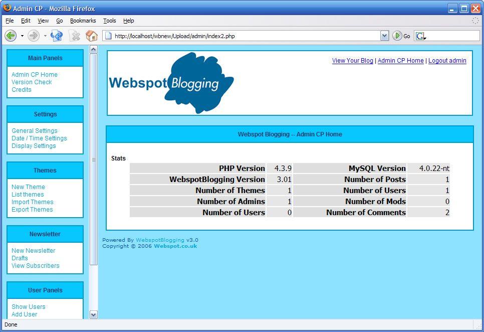 Vorschau WebspotBlogging - Bild 1