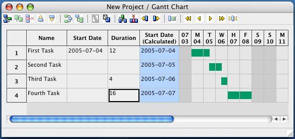 Vorschau GanttPV for the Mac - Bild 1