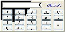 Vorschau Mini Calculator - Bild 1