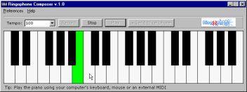 Vorschau Ringophone.com ringtones composer - Bild 1