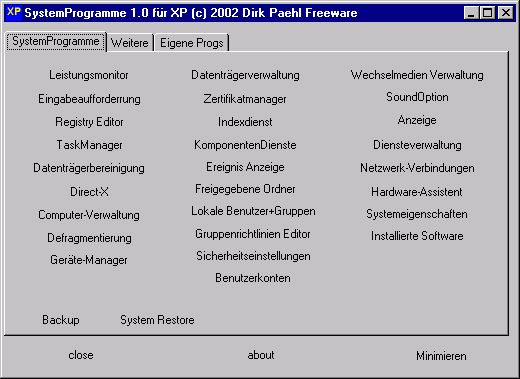 Vorschau Systeminfo - Bild 1