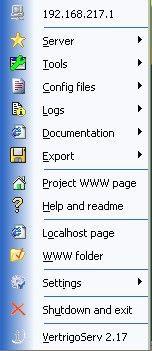 Vorschau VertrigoServ WAMP Server - Bild 1