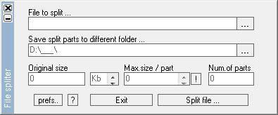 Vorschau File Spliter - Bild 1