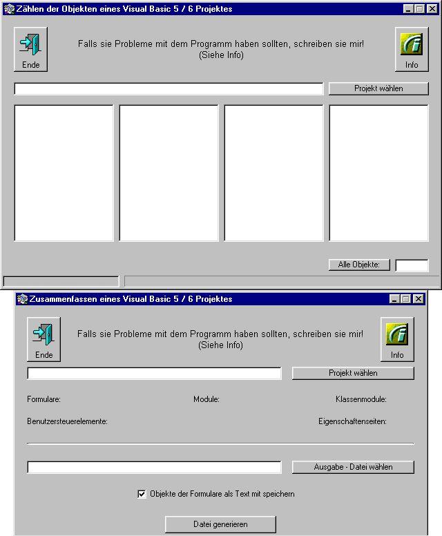 Vorschau Tools für VB 5 - 6 - Bild 1