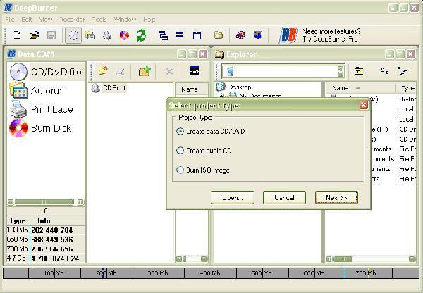Vorschau DeepBurner Portable - Bild 1