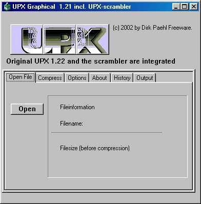 Vorschau UPX Graphical - Bild 1