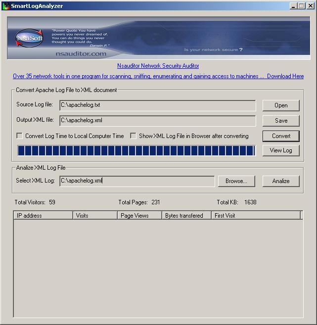 Vorschau SmartLogAnalyzer - Bild 1