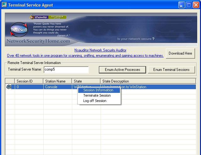 Vorschau TerminalServiceAgent - Bild 1