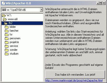 Vorschau Win2Apache - Bild 1