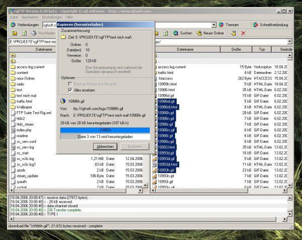 Vorschau rgFTP - Bild 1