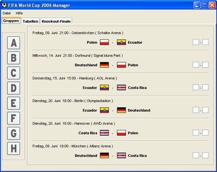 Vorschau FIFA World Cup 2006 Manager - Bild 1