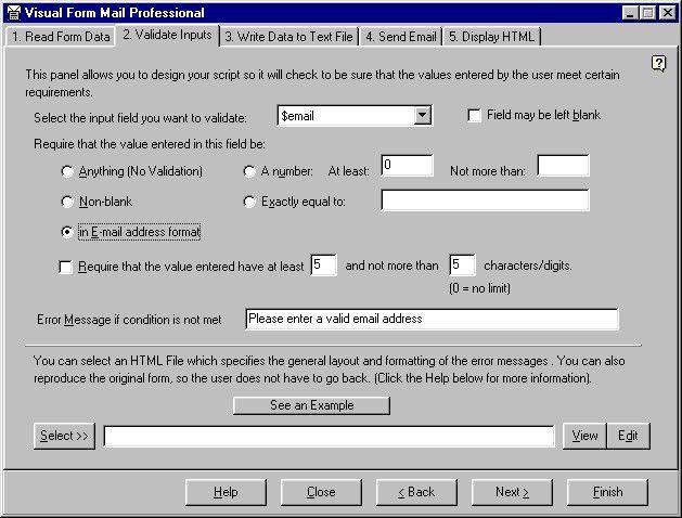 Vorschau Visual Form Mail - Bild 1