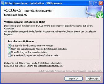 Vorschau FOCUS Online News-Bildschirmschoner - Bild 1