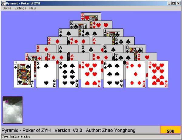 Vorschau Pyramid - Poker of ZYH - Bild 1