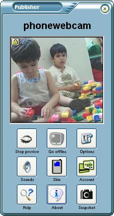 Vorschau Phonewebcam Publisher - Bild 1