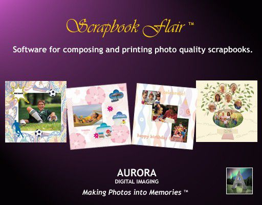 Vorschau Scrapbook Flair Software - Bild 1