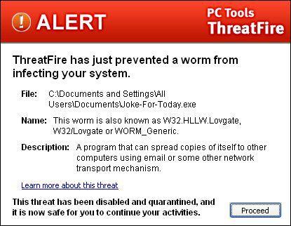 Vorschau PC Tools ThreatFire - Bild 1