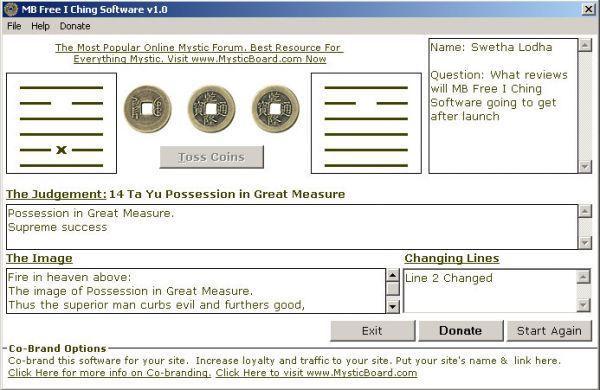 Vorschau MB I Ching Software - Bild 1