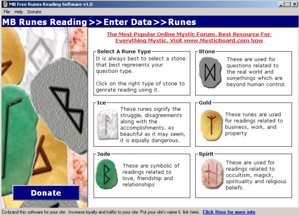 Vorschau MB Runes Reading Software - Bild 1