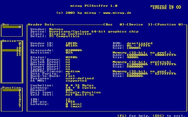 Vorschau PCISniffer - Bild 1