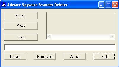 Vorschau Adware Spyware Scanner Deleter - Bild 1