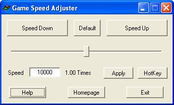 Vorschau Game Speed Adjuster - Bild 1
